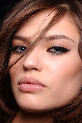 коричневый холодный цвет волос фото: